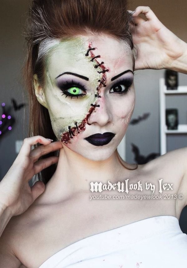 Scary Halloween Makeup to Make You Stand Out TeenCulture - Really Cool Halloween Makeup